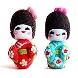 Artec360 Muñeca Japonesa Lana de Merino Kit de Felting Lana Fieltro - Agujas, Protectores de Dedos,...