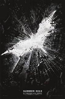 Batman Dark Knight Rises Advance A Original Movie Poster Double Sided 27x40