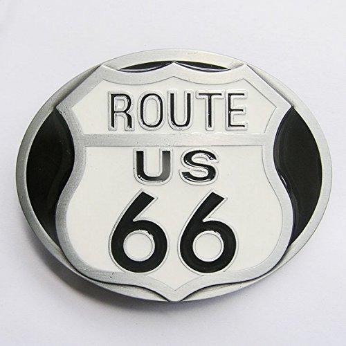 Boucle Ceinture pour lanière Universelle Route 66