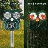 Zoom IMG-2 repellente gatti energia solare ultrasuoni