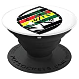 Guam Seal From Flag 671 CHamorro Liberation Reggae Colors PopSockets Grip and Stand for Phones and Tablets