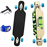 WY&WY Skateboard Mini Longboard Skateboard 36'Longboard Skateboard Completi A Quattro Ruote da...