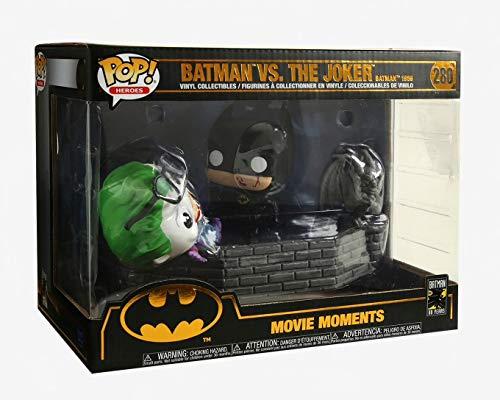 Funko 37250 Pop Vinilo: Movie Moment 80th: Batman and Joker (1989) Figura Coleccionable, Multicolor 5