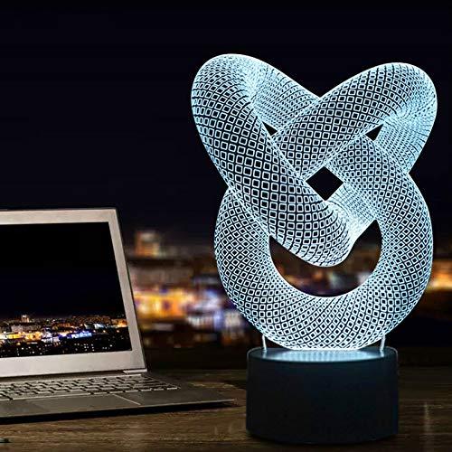 Nachtlicht Moderne Neue Generation Erstaunliche 3d Led-lampentisch - Schreibtisch Oder Nachtlicht 3d