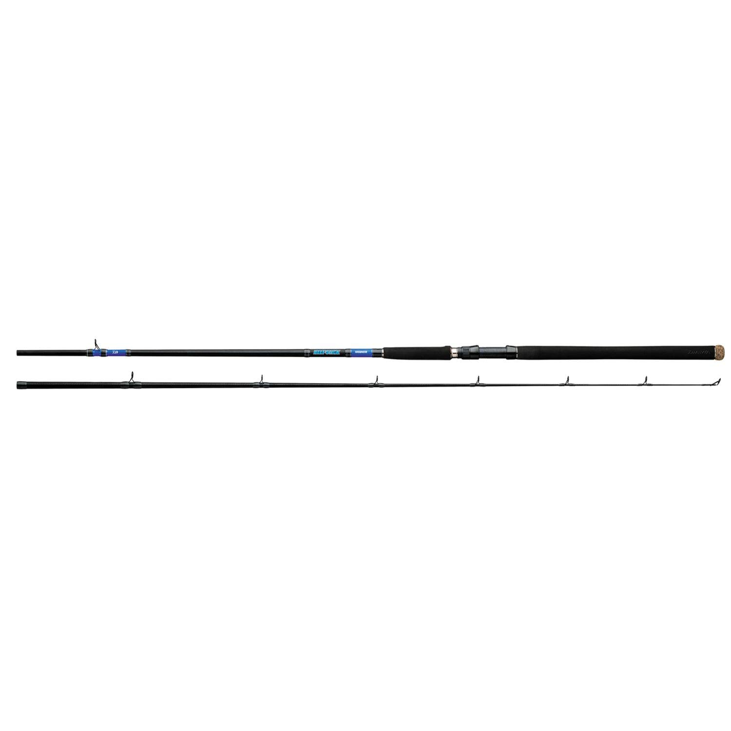 Amazon Com Daiwa Beefstick Surf Conv Rod 2 Piece 10ft Medium Heavy Black Sports Outdoors