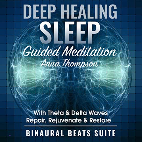 Deep Healing Sleep Guided Meditation with Theta & Delta Waves cover art