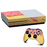 IT'S A SKIN Xbox One S Console & Controller Decal Vinyl Wrap   Ice Cream Cone Pink Sprinkles