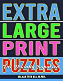 Extra Large Print Puzzles for Visually Impaired: 122 Giant Print Entertaining Themed Word Search Puzzles