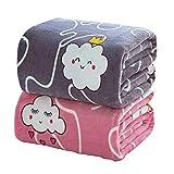 HOSD Decke für Kinder, Samt, Klimaanlage, Sommer 70*100cm Peso 200-300