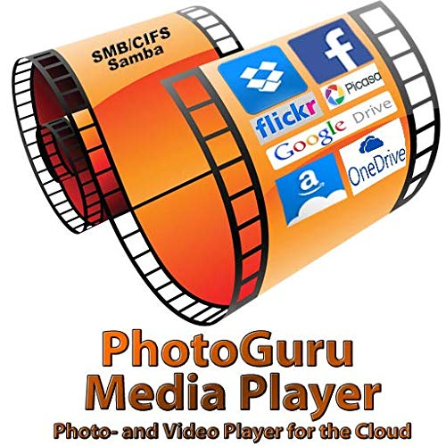 PhotoGuru Media Player - Foto und Video Player für die Cloud