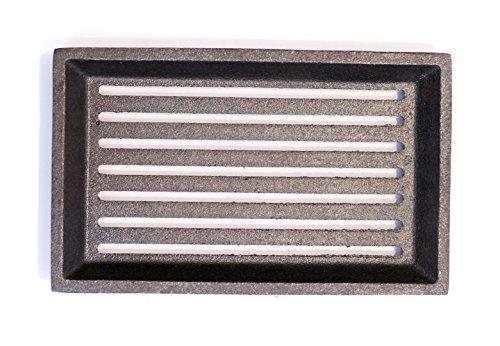 Hochwertiger 15,5x25 cm Gussrost Ofenrost Kaminrost Ascherost Rost Oranier Polar