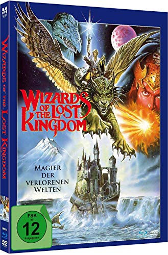 Wizards of the Lost Kingdom - Uncut Limited Mediabook-Edition (Blu-ray+DVD plus Booklet/digital remastered)