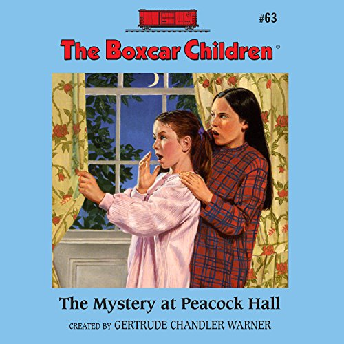 The Mystery at Peacock Hall audiobook cover art