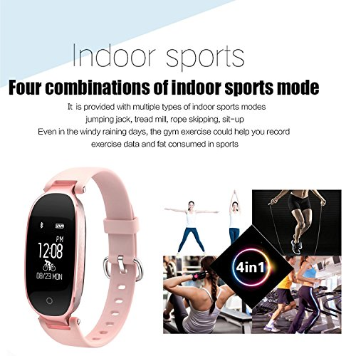 Bracelet Moniteur Flenco Rythme Cardiaque Sport Sommeil Activité Physique - 6