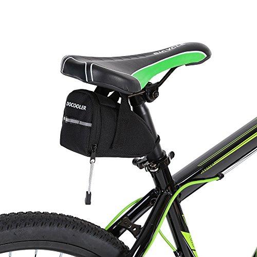 Docooler Bolsa de Sillín de la Bicicleta Bolsa del Bolso del Asiento Posterior de la Cola Ultraligero una Bolsa de Carga