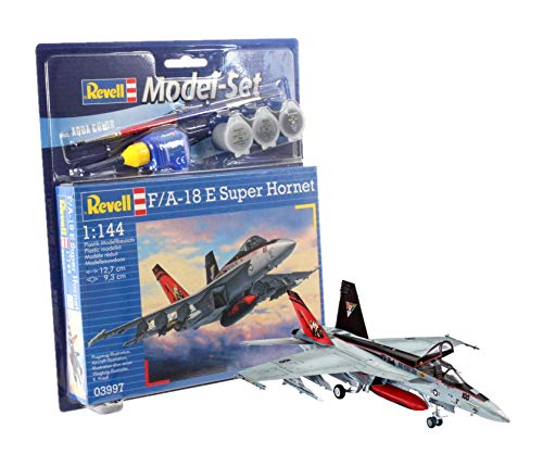 Revell 63997 – Model Set F/A-18E Super Hornet l'échelle 1 : 144