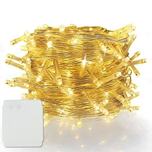 50/100/200/300/400/500 LED Alimentazione a Batteria Stringa Luci Fate di Natale Festa di Natale