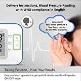 HealthSense Heart-Mate BP 100 Digital BP Monitor with Talking Function & Micro-USB port (Batteries Included)