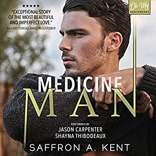 Medicine Man audiobook cover art