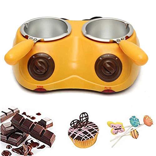 YYM Derretidor de Chocolate eléctrico, máquina de Fuente de Fondue de Chocolate,...