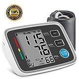 Tensiomètre Bras Électronique, Professionnel Tensiomètre Automatique avec Grand Écran LCD Mémoire de 180 pour 2...