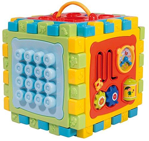 Liscianigiochi- Carotina Baby Super Cubo Mille attività, Multicolore, 68357