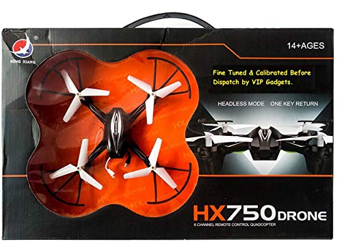 ACR TRADE HX750 Drone Quadcopter for Kids (Without Camera) (Black)