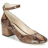 Jonak Vespa Zapatos De Tacón Mujeres Camel - 41 - Zapatos De Tacón Shoes