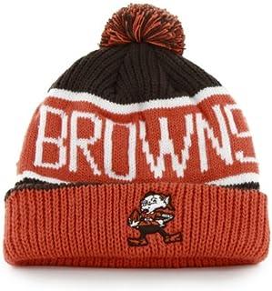 a9893eba0356f  47 Brand Calgary Cuff Beanie Hat with POM POM - NFL Cuffed Winter Knit  Toque ·