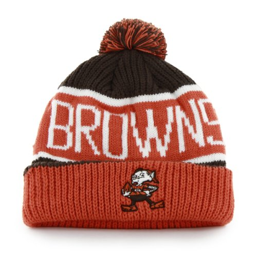 various colors 958cc 19a2e  47 Brand Calgary Cuff Beanie Hat with POM POM - NFL Cuffed Winter Knit  Toque.