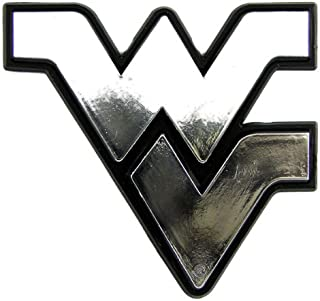 West Virginia Mountaineers Chrome Auto Emblem