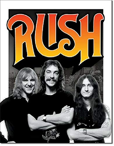 Yousigns Rush 1970's Rock N Roll Music Garage Band Wall Art Decor Man Cave 8