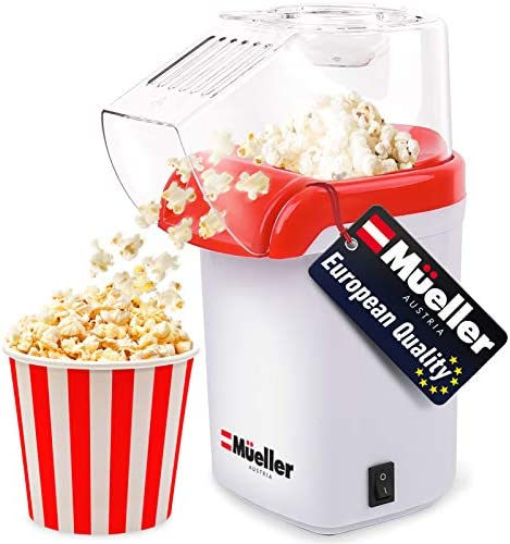 Mueller Ultra Pop Hot Air Popcorn Popper Electric Pop Corn Maker Healthy and Quick Snack No product image
