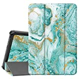 Famavala Shell Case Cover Compatible with All-New 8' Fire HD 8 / Plus (10th Generation 2020 Release) Tablet (FloatGreen)