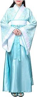 Meijunter Estilo Chino Retro Hanfu - Tradicional Antiguo Princesa Actuación Disfraz Vestido de Baile Cosplay Ropa