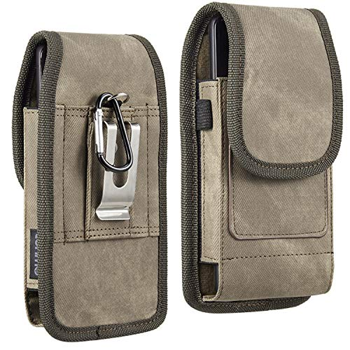 Premium Belt Clip Pouch Carrying Wallet Case for Samsung Galaxy S21 5G, A32, M02s, A12, A02s, M21s