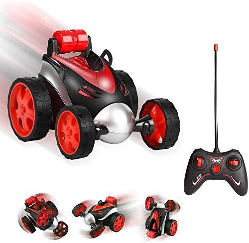 MGRETT Ferngesteuerte Auto, Ferngesteuertes Stunt Auto Rennwagen, Kinderspielzeug 360° Drehen RC Ferngesteuertes Rennauto Aufrechtes Fahren Spielzeugauto Geschenke für Kinder
