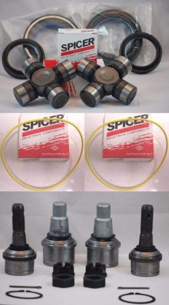FORD 98-04 F250 F350 SUPERDUTY Beauty products DANA 50 Super beauty product restock quality top! + U SEALS 60 AXLE FRONT