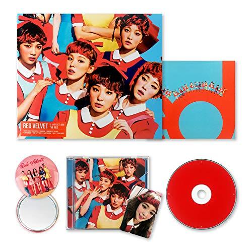 RED VELVET 1st Album - [ THE RED ] CD + Photobook + Photocard + FREE GIFT / K-POP Sealed