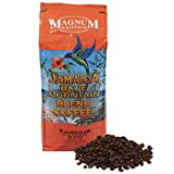 Jamaican Blue Mountain Coffee Blend, Whole Bean, 2 Lb Bag - Medium Roast, Fresh Strong Arabica Coffee - Rich And Smooth Flavor - Magnum Exotics