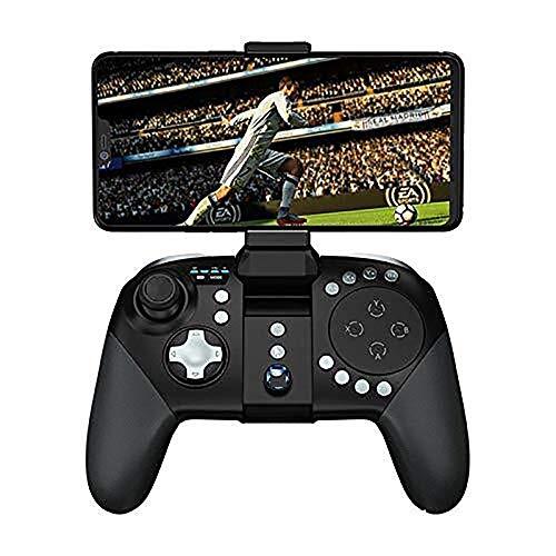 XIJUGE Wireless Controller Manette de Jeu, Gamepads et contrôleurs Standard, contrôleur de Jeu sans Fil Bluetooth télescopique Gamepad Manette de Jeu, pour PC/téléphones Android, tablettes, TV Box