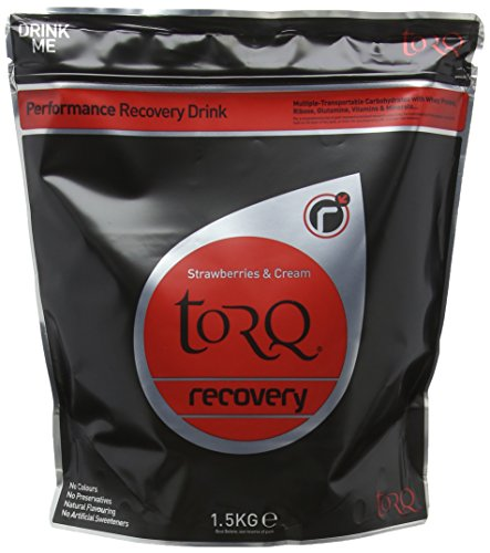 Torq Recovery Drink Strawberries and Cream, 1.5 kg - Pack of 2