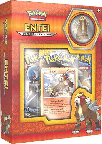 Pokemon - Company 25947 - PKM Entei Raikou Suicun Pin Box, Sammelkartenspiel