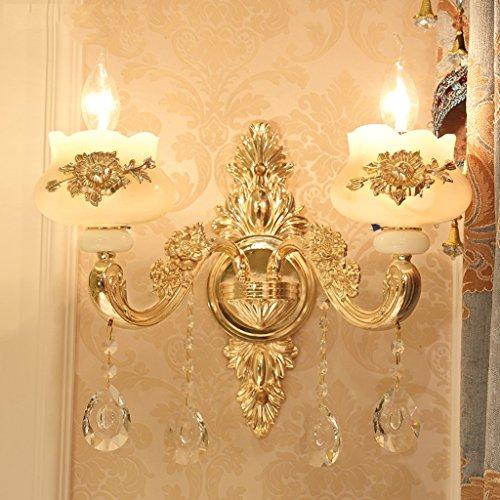 Applique murale en alliage de zinc Jade lampe de mur (style : A)