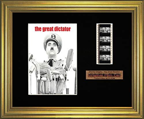Charlie Chaplin–Der große Diktator–gerahmtes Bild (G)
