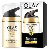 Olaz Total Effects CC Cream Mit LSF 15 Mittel Bis Dunkel, 50ml