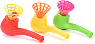 Party Favors - 1pc Party Blow Blowing Toys Plastic Pipe Balls Wedding Decoration Kids Children Baby Show Halloween - Baby Party Blow Pipe Gift Toy Wedding Children Guest Blow Funny Candy T