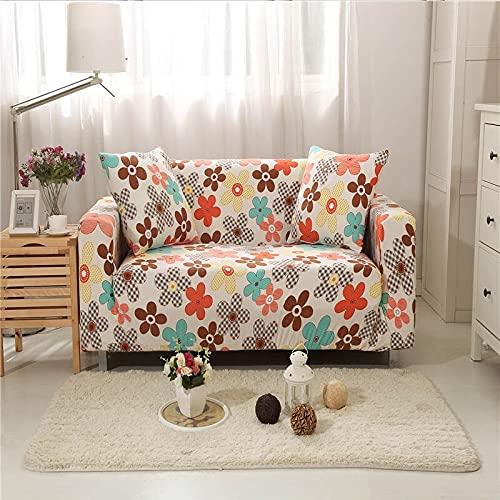 Funda de sofá elástica Funda de sofá Universal Suave Funda de sofá para Sala de Estar Funda de sofá Estilo decoración del hogar Funda A11 3 plazas