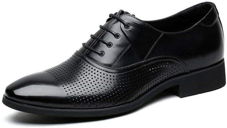 Herren Formale Formale Formale Schuhe, Herren-Business-Kleider Schuhe, Britische Wind Lederschuhe, Große Herrenschuhe Spitzen Schuhe Classic, Sandalen,Black,43 ( Farbe : Wie gezeigt , Größe : Einheitsgröße ) B07KYMHXD2  d66aae