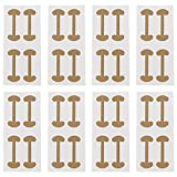 DOITOOL 10 Sets Nail Correction Sticker Pedicure Paronychia Recover Ingrown Toe Nail Manicure Clipper Fixer Pedicure Tools Foot Care Tool Kit